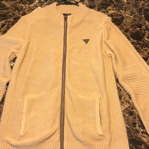 Tan/brown Men's XXL GUESS jacket